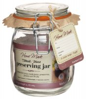 Home Made Traditional Glass Preserving Jar 750ml (26oz)