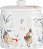 Price & Kensington Country Hens Tea Storage Jar