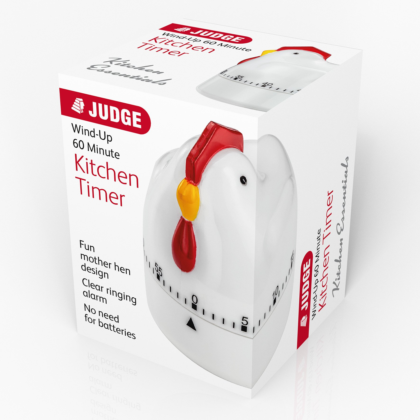 Judge Kitchen Analogue Timer - Mother Hen at Barnitts Online
