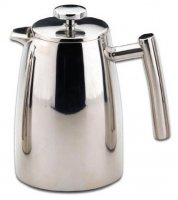 Grunwerg Double Walled 3 Cup Stainless Steel Cafetiere