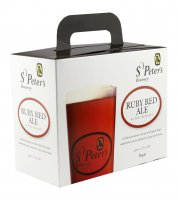 St Peter's Brewery 40 Pint Beer Kit - Ruby Red Ale