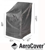 Pacific Lifestyle Stackable Chair Aerocover 67 x 67 x 110cm