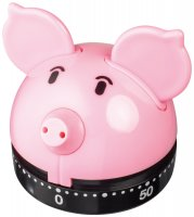 Judge Kitchen Analogue Timer - Piggy