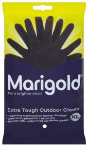 marigold extra tough outdoor gloves - extra large