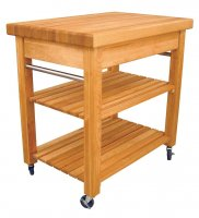Catskill Craftsmen Compact French Country Workcentre Kitchen Trolley