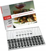 Sabatier & Judge Knives IV Range - 12 Piece Steak Knife & Fork Set