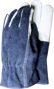 Town & Country Premium - Leather & Suede Mens Gloves Medium
