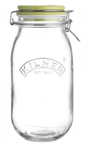 Kilner Ceramic Round Clip Top Jar 2ltr - Bird Food