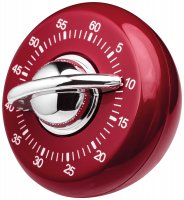 Judge Kitchen Classic Timer - Red