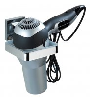 Wenko Vacuum Loc Quadro Hair Dryer Holder