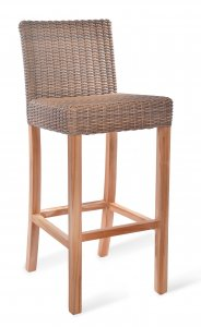Garden Trading Lymington Bar Stool - All-Weather Rattan