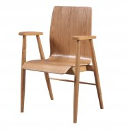 Jual Vienna Office Chair in Oak