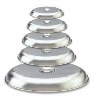 Grunwerg Oval Stainless Vegetable Serving Dishes Covers - 5 Sizes