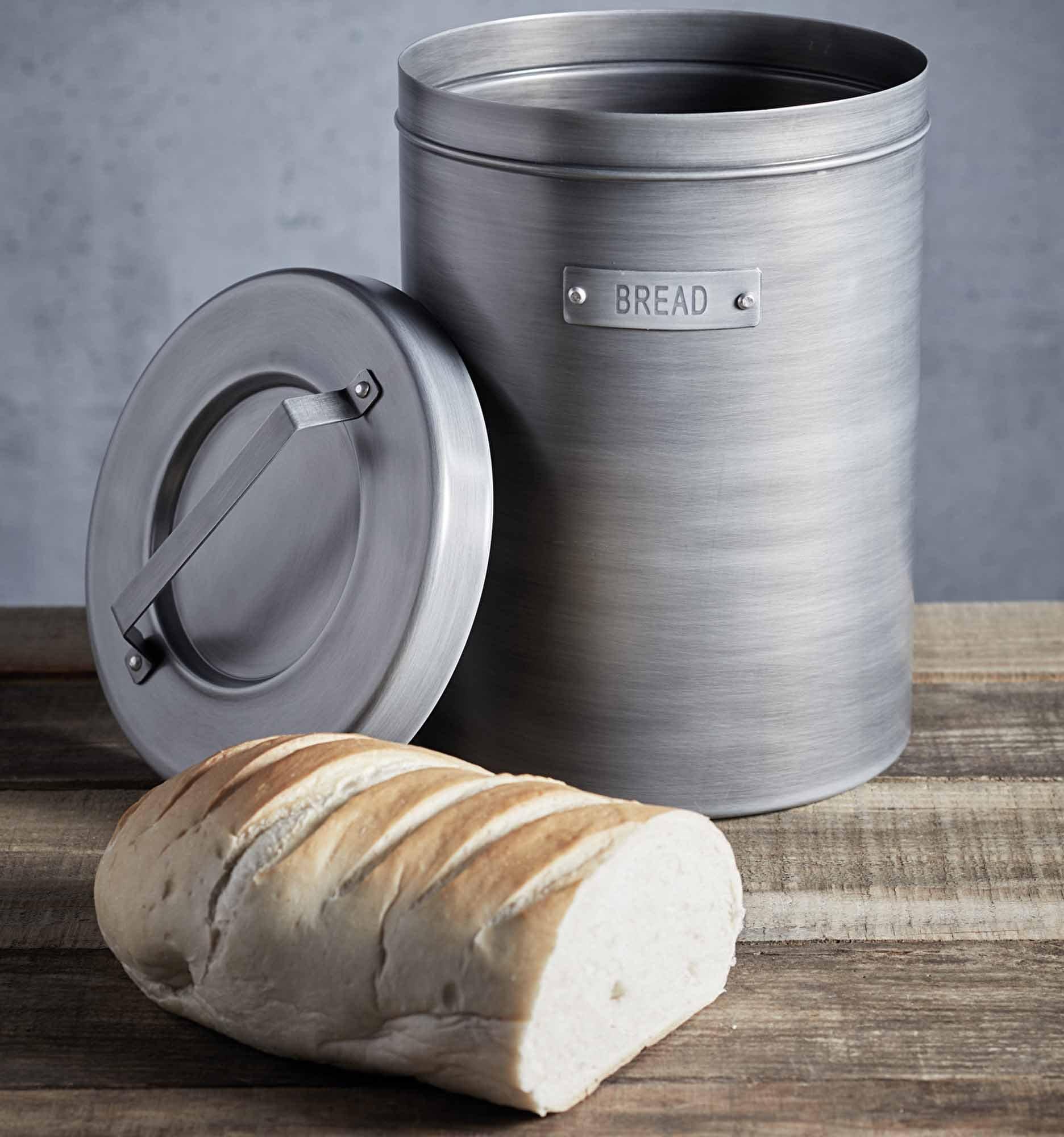 Kitchencraft Industrial Kitchen Metal Bread Bin At Barnitts Online