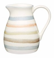 KitchenCraft Classic Collection Striped Ceramic Milk Jug 500ml