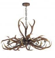 David Hunt Antler Emperor 8 Light Pendant
