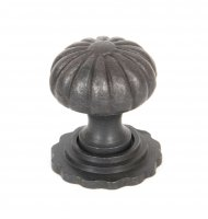 Beeswax Cabinet Knob (with base) - Small