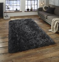 Think Rugs Polar PL 95 Charcoal - Various Sizes