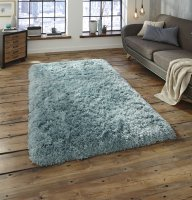 Think Rugs Polar PL 95 Light Blue - Various Sizes