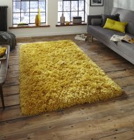 Think Rugs Polar PL 95 Yellow - Various Sizes