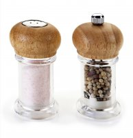 Metaltex Salt Shaker & Pepper Mill Set