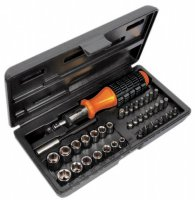 Avit Sockets & Bits 40 Piece Set