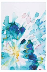 KitchenCraft Abstract Flower Tea Towel, Set of 2
