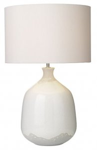 Dar Nushrah Table Lamp Ceramic & White Base Only