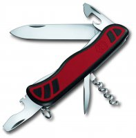 Victorinox Nomad Dual Density Swiss Army Knife Multi Tool Red / Black