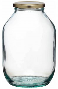 Home Made Traditional Glass Pickling Jar, 2.25 Litres
