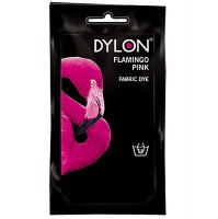 Dylon Fabric Dye for Hand Use - Flamingo Pink (29)