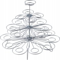 Sweetly Does It Wire Cupcake Tree Stand for 23 Cakes 30cm
