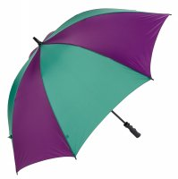 Charles Buyers Golf Umbrella Purple / Green 30""