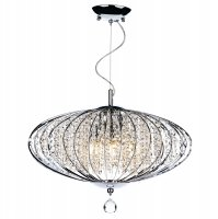 Dar Adriatic 5 Light Pendant Polished Chrome