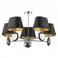 Dar Lexington 5 Light Pendant (Dual Mount) - Shade sold separately