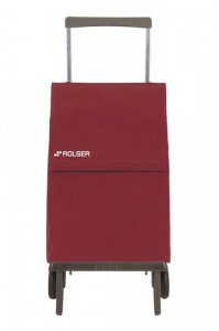 Rolser Plegamatic Original Folding Shopping Trolley in Wine