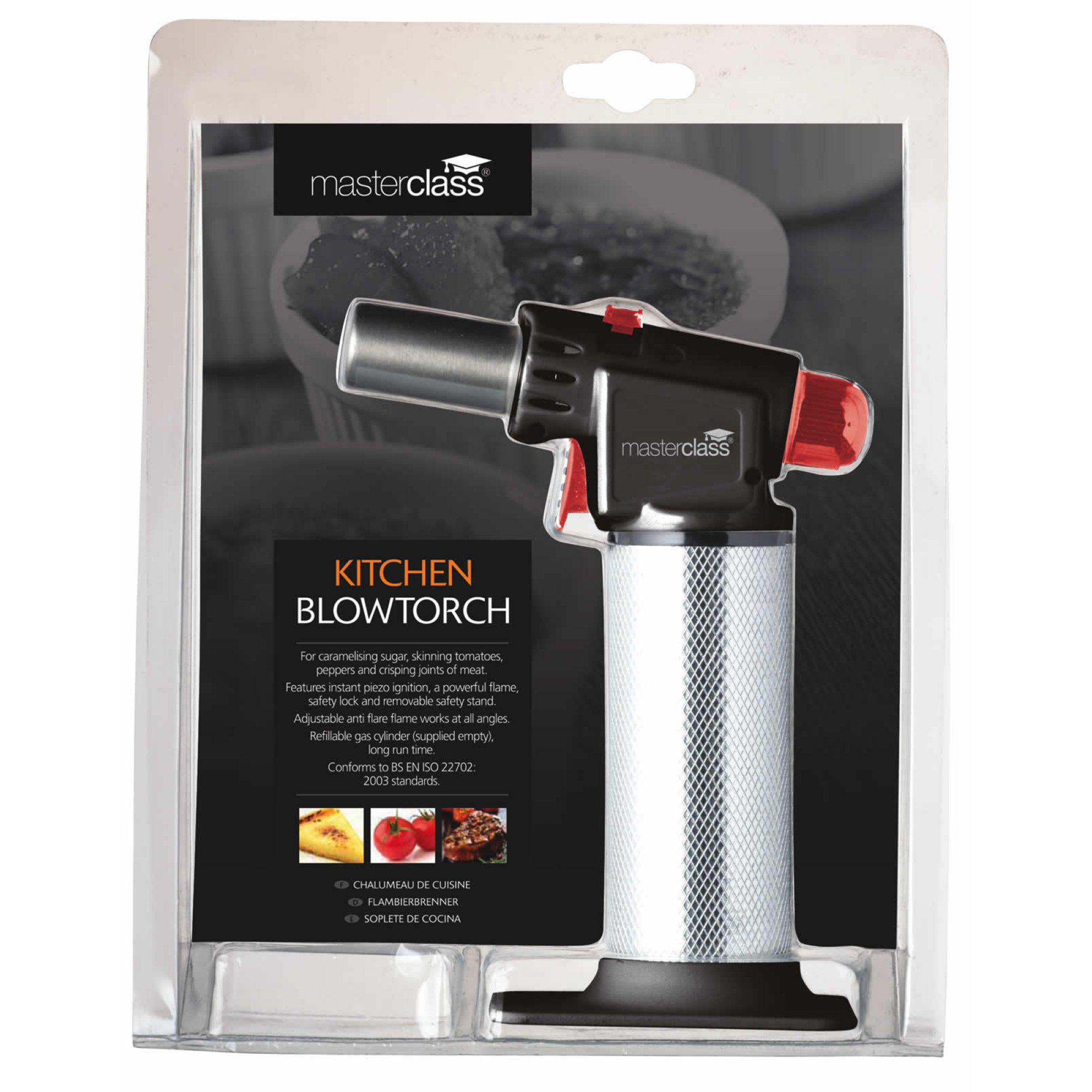 Masterclass Deluxe Professional Cook S Blowtorch At