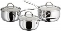 Judge Classic Stainless Steel 3 Piece Saucepan Set