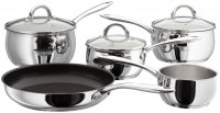 Judge Classic Stainless Steel 5 Piece Saucepan Set