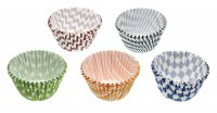 Sweetly Does It Patterned Paper Muffin Cases 9cm, Pack of 160