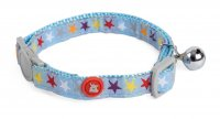 Little Petface Kitten Collar - Mixed Stars