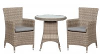 Royalcraft Wentworth 2 Seater Round Carver Bistro Set