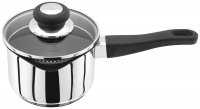 Judge Vista 18/10 Stainless Steel Draining Non-Stick Saucepan 14cm