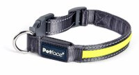 Petface Bright & Safe Reflective Collar - Various Sizes