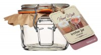 Home Made Deluxe Glass Terrine Jar 125ml (4oz)
