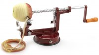 Grunwerg Stainless Steel Apple Peeling Machine Red