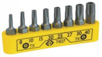 C.K Screwdriver Bit Clip TX Set Of 8