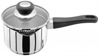 Judge Vista Stainless Steel Draining Saucepan 14cm - Unboxed