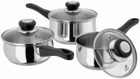 Judge Vista 3pc Saucepan Set