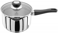 Judge Vista Stainless Steel Draining Saucepan 18cm - Unboxed